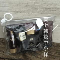 Free shipping! South Korea black Lu He Runsheng shampoo, conditioner, shower gel, toothpaste, toothbrush, 5 sets of samples