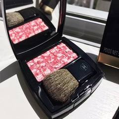Hongkong purchasing genuine Chanel Chanel 17 spring Limited tweed asteriated blush