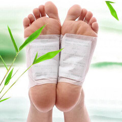 Bamboo foot patch feet on the foot's bamboo beauty deep clean smooth skin soothing dampness and