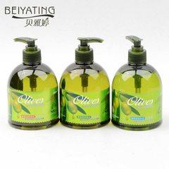 Bei Yating olive soap sterilization moisturizing whitening moisturizing artifact toiletries green bottle of hand sanitizer