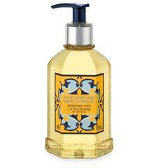 Hongkong counter genuine L'OCCITANE Provence fruitee fresh hand sanitizer hand cleanse Gel 300ml