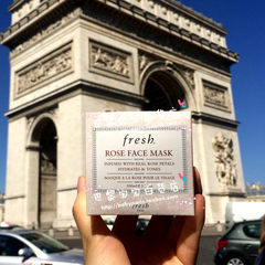 The French Fresh Fu Lei poetry Natural Rose Moisturizing Mask 100ml moisturizing brightening available for pregnant women
