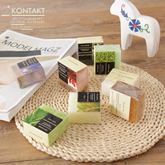 Plants are good! Fresh natural soap, essential oil soap, pure natural whitening facial soap