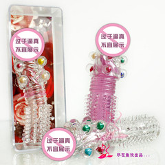 Transparent color beads, crystal sets, sexy adult products, husband and wife, safety condoms, household products, men's products