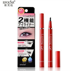 Wholesale efolar Liquid Eyeliner durable waterproof and sweat is not easy to halo soft brush head for shipping over 88 yuan