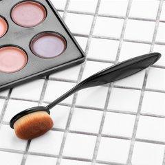 I send a makeup brush type liquid foundation brush brush brush cover beginner BB cream do not eat powder makeup tools Coffee color (for lid) Man-made fiber