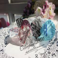 Japan OKINA portable travel, mouthwash, kissing, magic, ha ha, a back - many choices Pink rose one