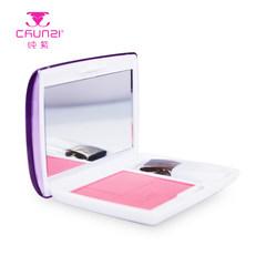 纯紫彩妆专柜正品柔亮胭脂腮红持久服帖防水不掉妆红润 亮丽 包邮 6#亮桔色