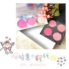 Zoeva disk / spring spot blush ipodshuffle high light color blush bronzing plate SweetGlamour Instant cash