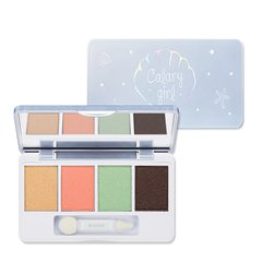 [loss clearing] Missha Missha staff A limited series Calary girl four-color eye shadow disk 2#