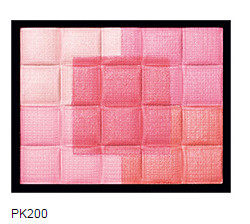 Shiseido MAQUIILLAGE scheming blush orange pink five Palace PK200 RD100 spot Pk200 pink tone