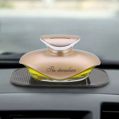Perfume bottle, men, ladies, car perfume, lasting fragrance, fragrant home car, perfume seat Y constant gold - Lemon
