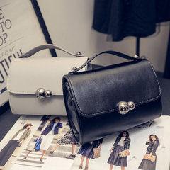 2017 new handbag bag Korean chain bag Xiaoxiang wind tide Handbag Shoulder Messenger Mini Bag black
