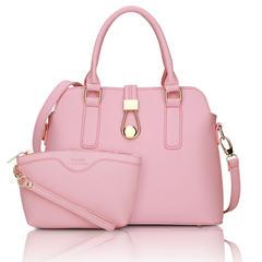 New handbag fashion lock shell bag shoulder diagonal cross portable multifunctional bag hot female bag Sky blue