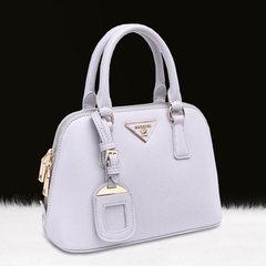 European and American fashion shell bag spring 2016 new handbag Crossbody embossed ladies leisure bag shoulder hand of bill of lading Lilac colour