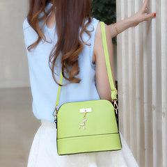 Candy color shell bag 2017 Korean new summer simple girls single shoulder bag new woman small Satchel Rose Rose