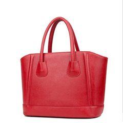 2016 handbag bride bag bag Crossbody Bag shell solid red smiley package Rose red