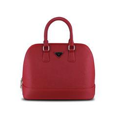 Fashion authentic American handbag, large size shell bag, embossed fashion bag, Japan and Korea style, leisure tide Light yellow