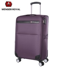 Authentic mail Swiss sword, pull case, explosion proof zipper, boarding box, saber case, Oxford cloth soft case 20 inch Violet