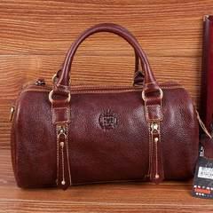 Hide Leather Shoulder Bag Handbag Satchel off genuine head layer cowhide Hippie wind bag 053478 Picture color