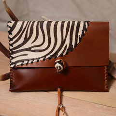 MadMummy Zebra Handbag hand bag cage shadow zebra thick section Ordering time is about 15-20 days