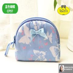 Bangkok NARAYA Thailand shopping bag genuine elephant Floral Fabric Coin Bag Handbag Purse NB-384 CP97