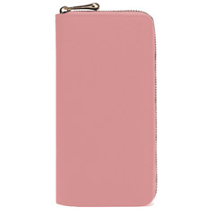 Female Long Wallet 2016 new fashion in Japan and South Korea Korean all-match multifunctional personality simple lady custom Pink B
