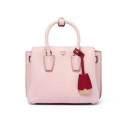 Korean purchasing *MCM* counter authentic *2017, new MILLA single shoulder oblique cross bag, small star models Light pink (domestic spot)