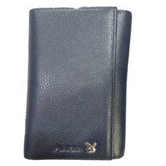 PLAYBOY/ Leather Wallet Purse dandy men long leather wallet seventy percent off New Wallet Royal Blue