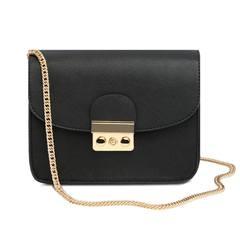 Small bag 2017 female new Satchel all-match Korean chain bag mini small bag bag bag in summer black