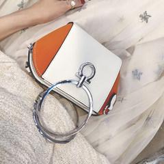 The small bag 2017 female new tide all-match Korean satchel ring Mini Handbag Shoulder Bag shell bag 50349 green