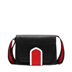 DooDoo summer small bag 2017 new tide Mini Crossbody female Korean wide strap simple all-match bag black
