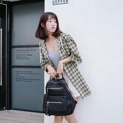 2017 new Korean female Oxford tide backpack backpack ladies leisure bags cloth all-match big mummy bag bag