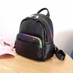 2017 new backpack female Korean fashion all-match Ms. Radil backpack leisure travel bag Mommy tide
