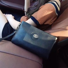 Female middle-aged mother package 2017 new fashion leather bag leather mini mobile phone simple mother messenger packet