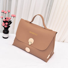 2017 new European fashion bag handbag handbag fashion star with a large capacity disk pack