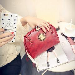 2017 new summer retro youpi art single shoulder bag bag bag bag head Korean beauty fashion