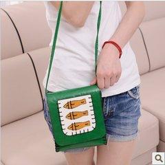 Mini Bag 2016 spring summer new three fish female bag, One Shoulder Satchel, mobile phone bag, zero wallet