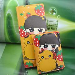 41 children, princesses, zero wallets, girls, primary and secondary students, cute cartoon, cartoon purse, blue pink, long and short Wallet