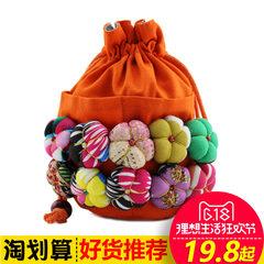 Oblique cross small bag, female mini bag, simple Cute Canvas bag, hand bag, Lijiang handmade fabric, zero purse, female