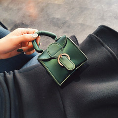 Mini Bag Satchel 2017 new handbag bag purse personality cute Korean chain bag bag