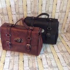 [shipping] retro messenger bag female Satchel Handbag Shoulder Bag Handbag briefcase in England