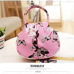 Summer mobile phone bag, female satchel, hanging neck, mobile phone bag, wrist bag, small change package, Mini Bag Pink Butterfly primaries