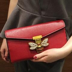 Female bag hand bag 2017 new Korean bee package all-match chain bag shoulder bag packet mobile phone vibration