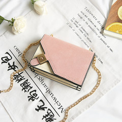 Korean Fashion Square frosted 2017 new small bag bag lock female leisure all-match chain single shoulder bag