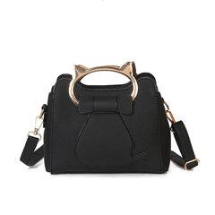 2017 new handbag bag lady on Korean cute little kitty ears handbag's Shoulder Messenger Bag