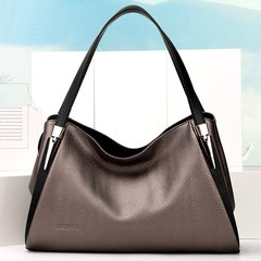 Fox female fashion handbags leather shoulder bag 2017 new large leather handbags contracted capacity