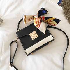 2017 new small package bags are simple all-match bag lady Korean single shoulder bag send scarves