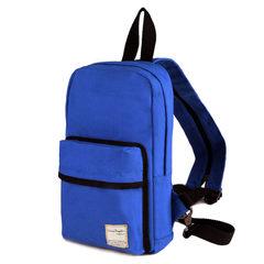 帆布共和国男士胸包韩版挎包斜背包双肩包户外运动休闲包帆布小包