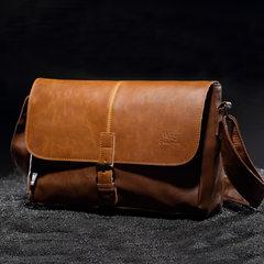 South Korea version business man bag shoulder bag backpack bag zipper male Leisure Bag Messenger Bag Chaonan oblique chest